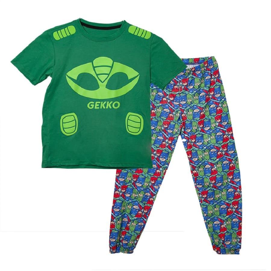Pijama-Larga-PJ-MASK-Gekko-Verde-Talla-6
