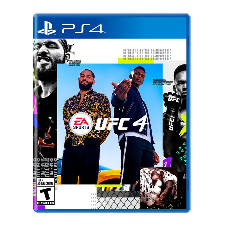 Video-Juego-PS4-Siea-Ufc-4