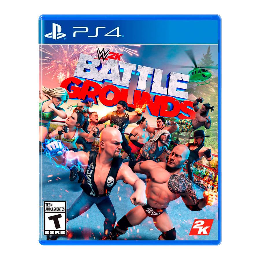 Video-Juego-PS4-Take-2-Wwe-2k-Battleground