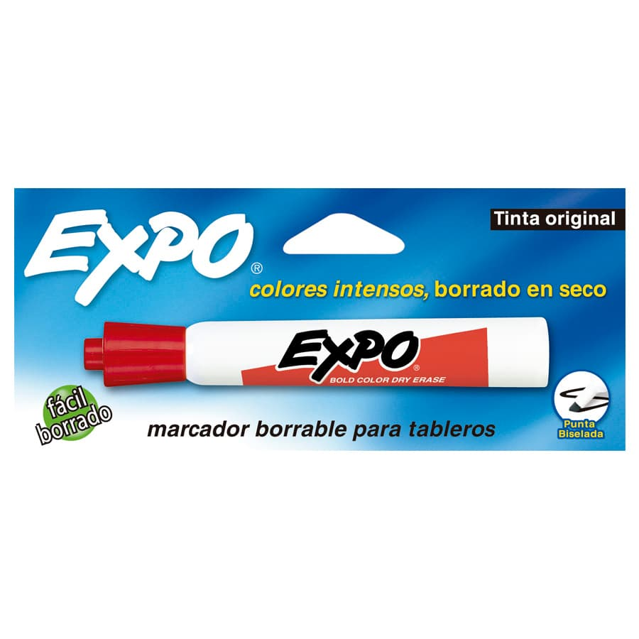 Marcador-Borrable-Expo-X1-Rojo