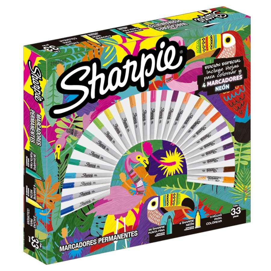 Ruleta-Sharpie-Tropical-X30