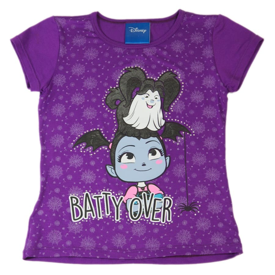 Camiseta-VAMPIRINA-Batty-Over-Morado-Talla-5T