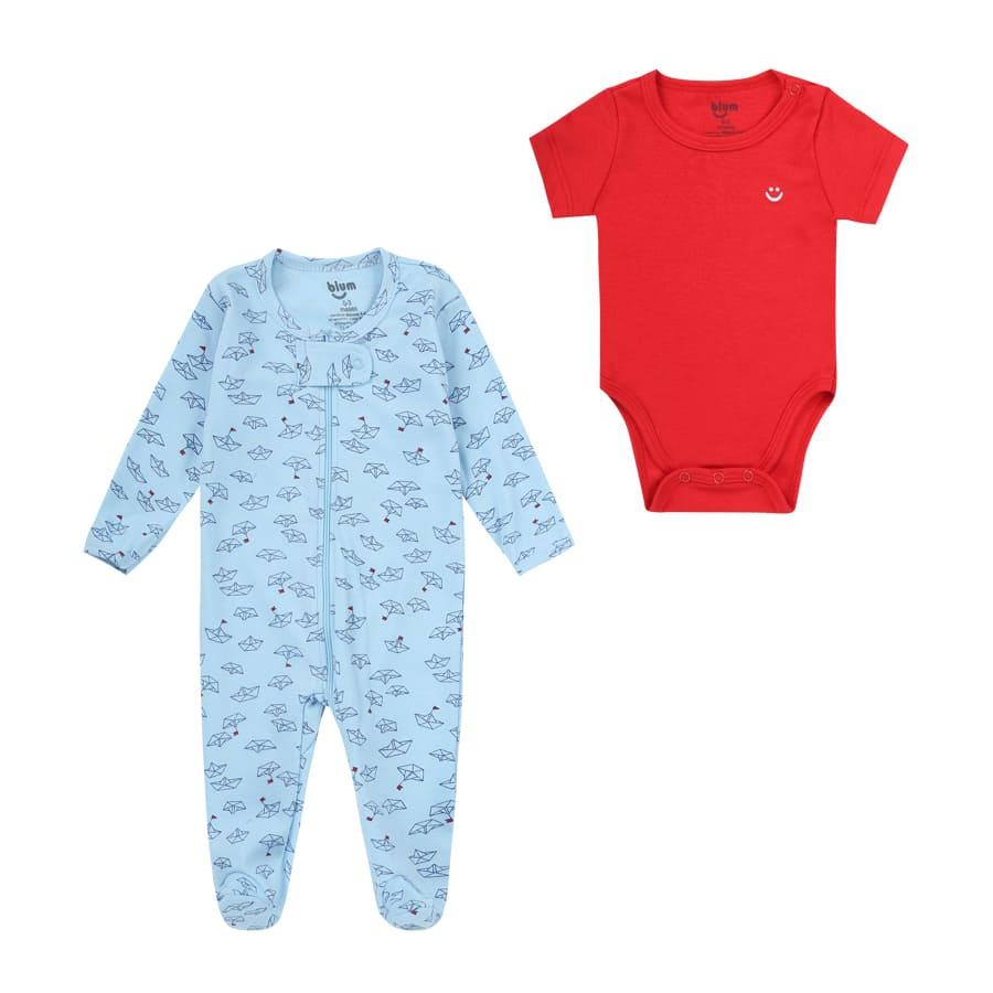 Set-2-Piezas-Pijama-Barco-y-Boby-Manga-Corta-BIUM-Talla-18-24M