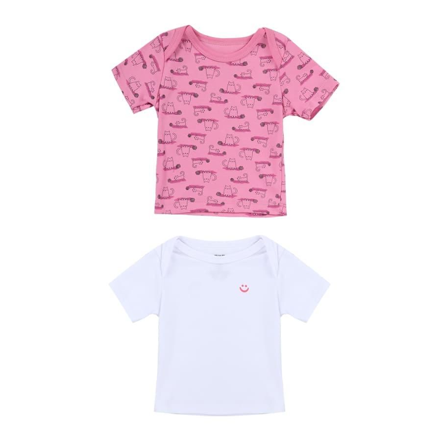 Set-2-Piezas-Camiseta-Manga-Corta-Gatito-BIUM