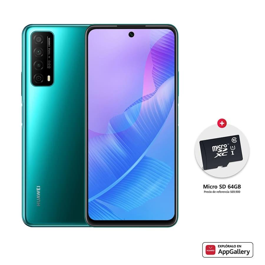 Celular-HUAWEI-Y7a-64GB-Verde---Memoria-SD-Card-de-64GB